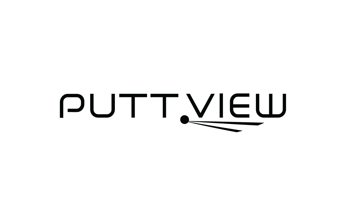 logo puttview noir
